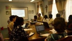 Caritas Zimbabwe in a meeting with Country Representatives of CRS, C0RDAID, CAFOD and Trocaire.