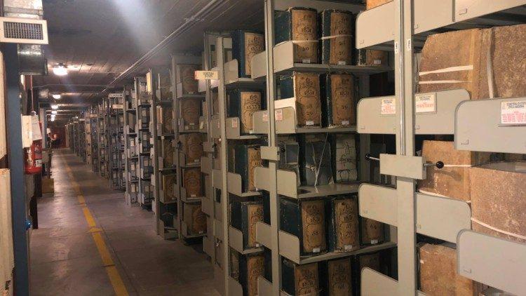 2020.02.19  Archivio Apostolico Vaticano - Bunker sotterraneo