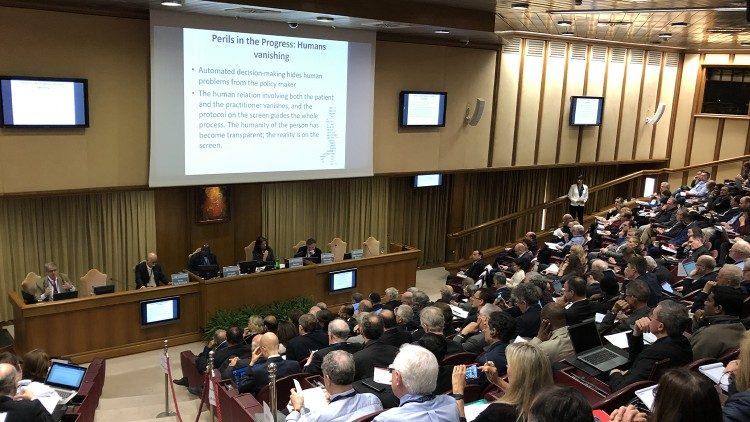 Congresso sobre inteligência artificial, no Vaticano