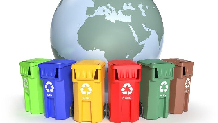 Waste sorting for a cleaner environment.