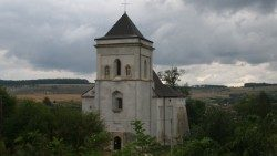 The church in Bishche, Ukraine