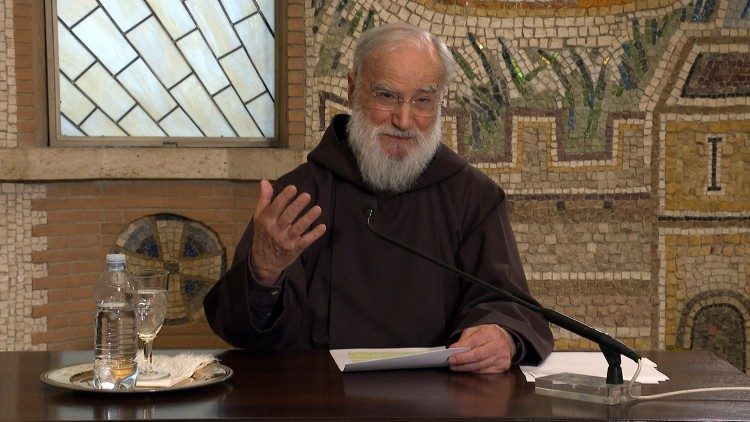 Fr Cantalamessa delivers the First Lenten Sermon