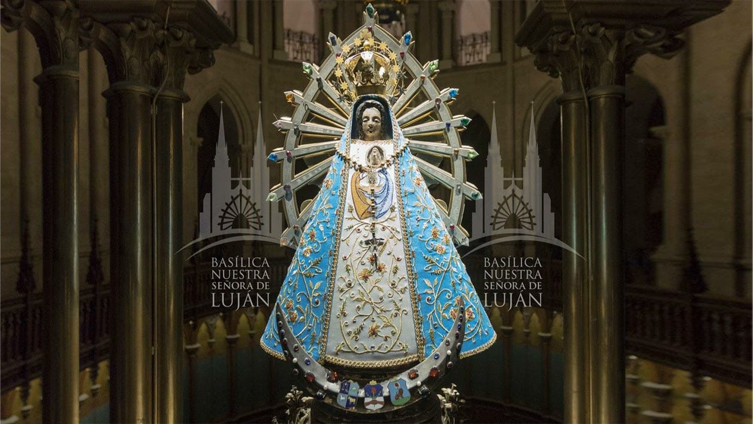 08 May – Rosary for the end to the pandemic from the Shrine of OUR LADY OF LUJAN, Argentina