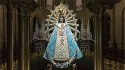 2020.03.23 Virgen Lujan streaming coronavirus
