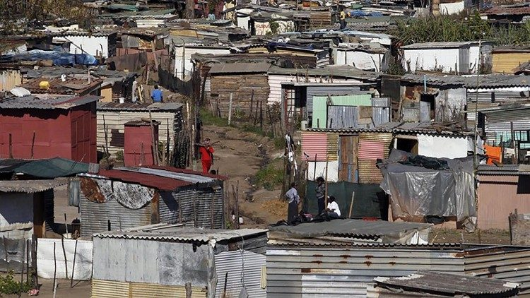 A township in South Africa