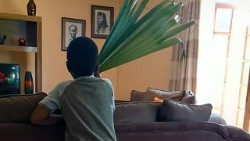 Louis in Zimbabwe, eagerly waiting for Palm Sunday in the family