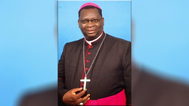 Bishop Moses Hamungole of Monze Diocese, Zambia