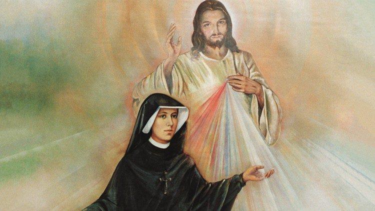 Thánh Faustina Kowalska và ảnh Lòng Chúa Thương xót