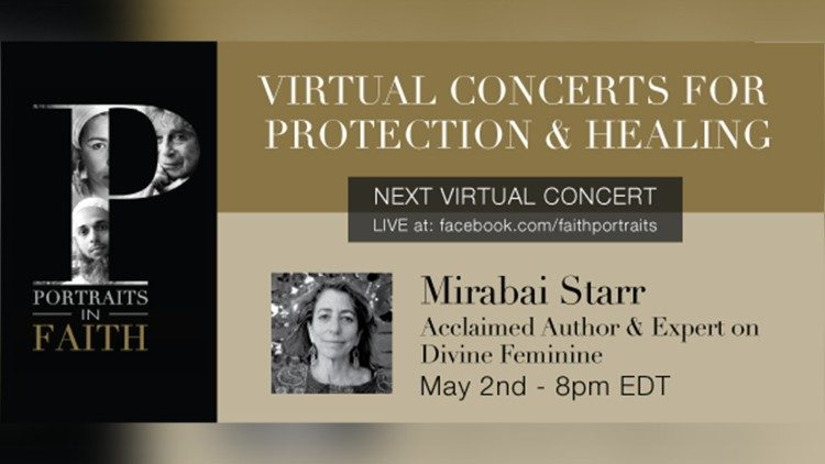 Virtual Concerts for Healing and Protection flier
