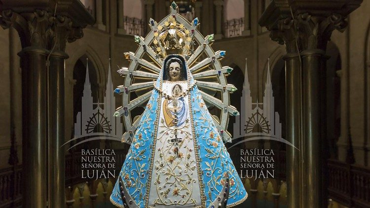 An image of Our Lady of Luján