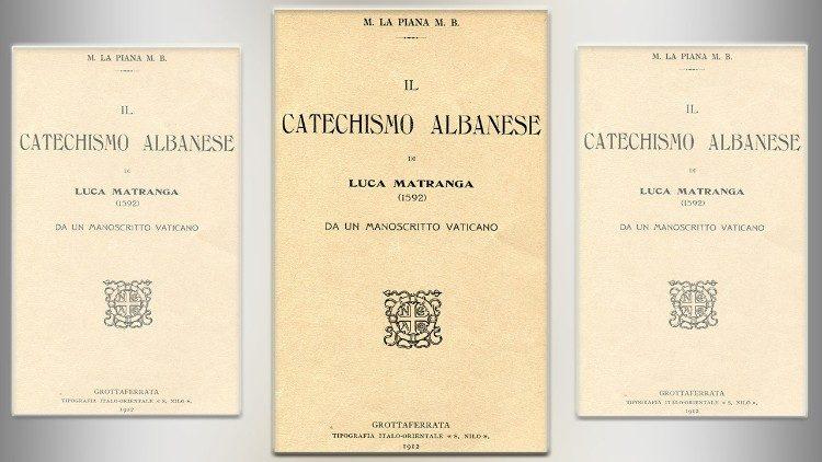Le catéchisme albanais de Luc Matrnaga (1592)