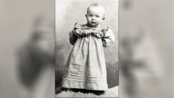 St. John Paul II at one year old