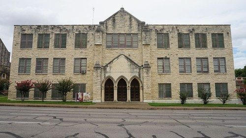 St Mary's Catholic School in Waco, TX closes its doors for the remainder of the 2019-2020 school year