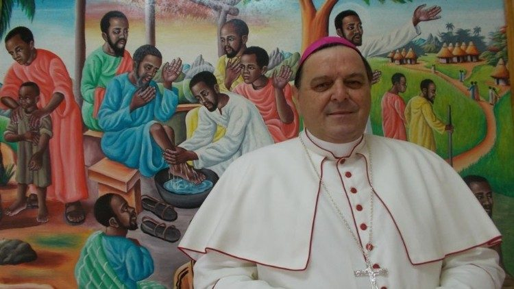 2020.05.15 Bishop Natale Paganelli, the Apostolic Administrator of Makeni in Sierra Leone