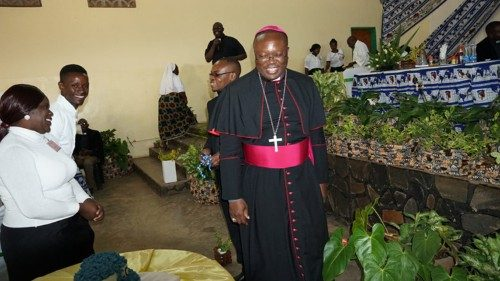 Bishop Valentine Kalumba of Livingstone Diocese, Zambia