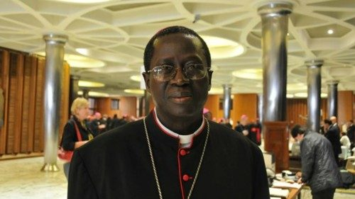 Archbishop Benjamin Ndiaye, the Metropolitan Archbishop of Dakar, Senegal