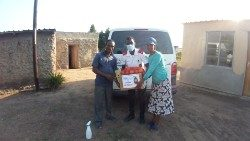 The Order of Malta on the ground in rural South Africa with food assistance during the pandemic