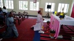 Hazaribagh Diocese joins prayer service