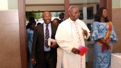 President of the Ghana Catholic Bishops' Conference, Archbishop Philip Naameh