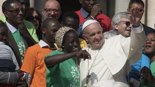 """Pope calls for joint efforts on path towards an ever wider """"we"""""""