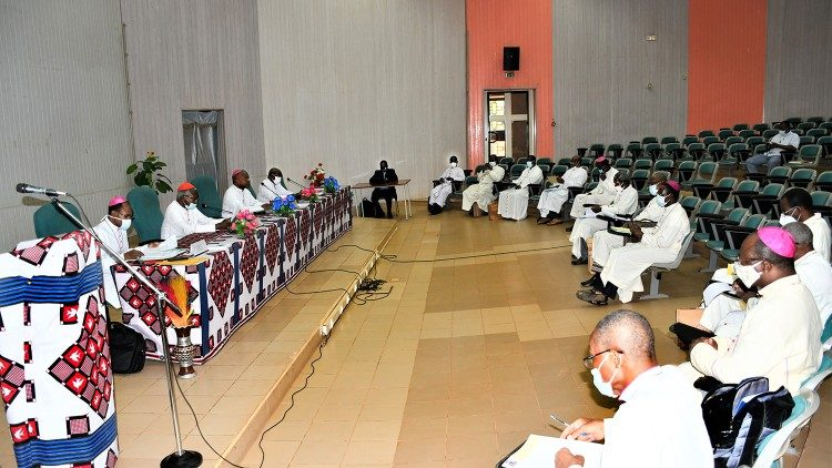 Bukina Faso Bishops at their recent June plenary in Ouagadougou