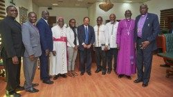 Some members of the South Sudan Council of Churches
