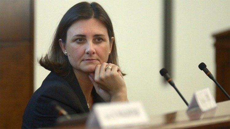 Gabriella Gambino, sous-secrétaire du dicastère pour la Famille, les Laïcs et la Vie.