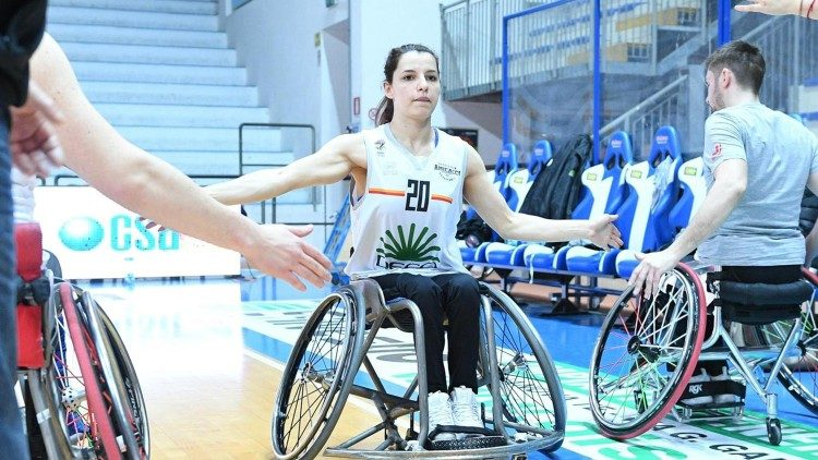 Beatrice Ion, una de las jugadoras del equipo paralímpico italiano de baloncesto