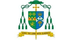 Bishop Edward Charles Malesic's Coat of Arms