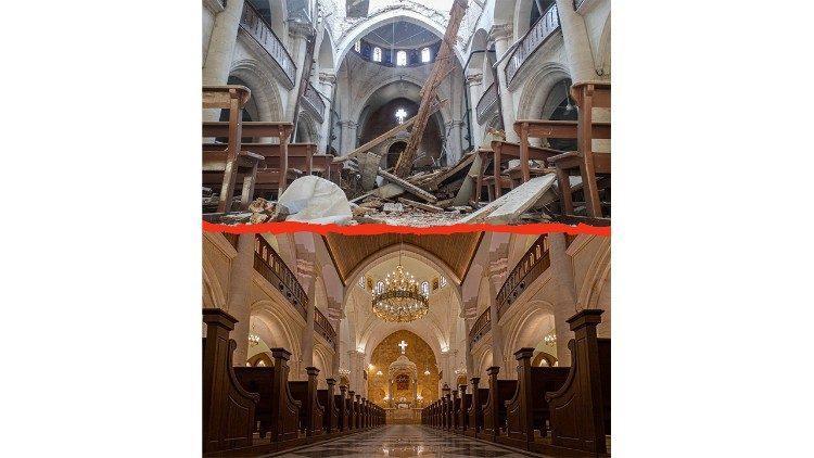 La cathédrale Saint-Élie est la cathédrale maronite de la ville d'Alep au nord de la Syrie.