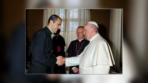 Father Fabio Salerno, newly appointed Secretary to Pope Francis