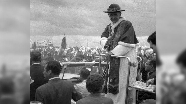 Paulo VI em Bogotá