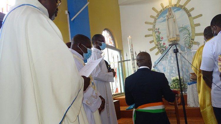 Consécration de la ville de Grand Bassam au Cœur Immaculé de Marie/Côte d'Ivoire