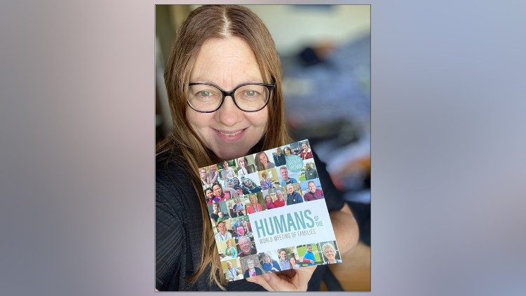 Humans of the World Meeting of Families edited by Brenda Drumm pictured in photo