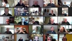 Bishops participating in virtual plenary assembly of the Canadian Bishops Conference, 21-25 September