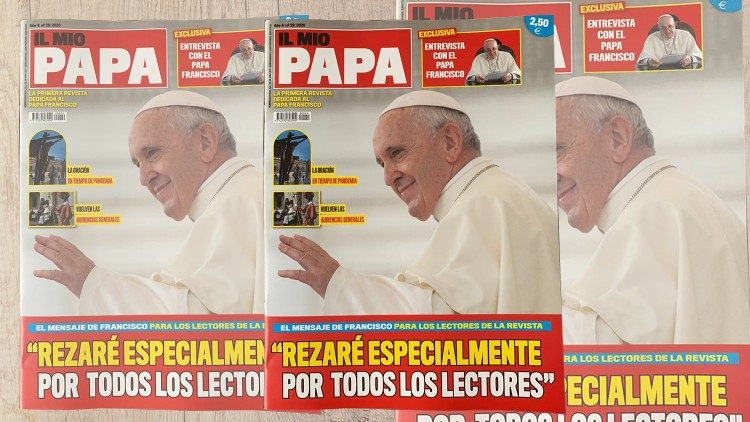Portada de la edición española de «Il mio Papa».