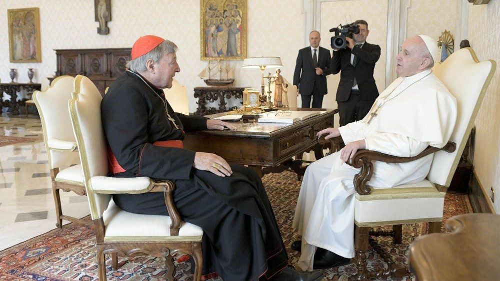 Pope Francis receives Cardinal George Pell - Vatican News
