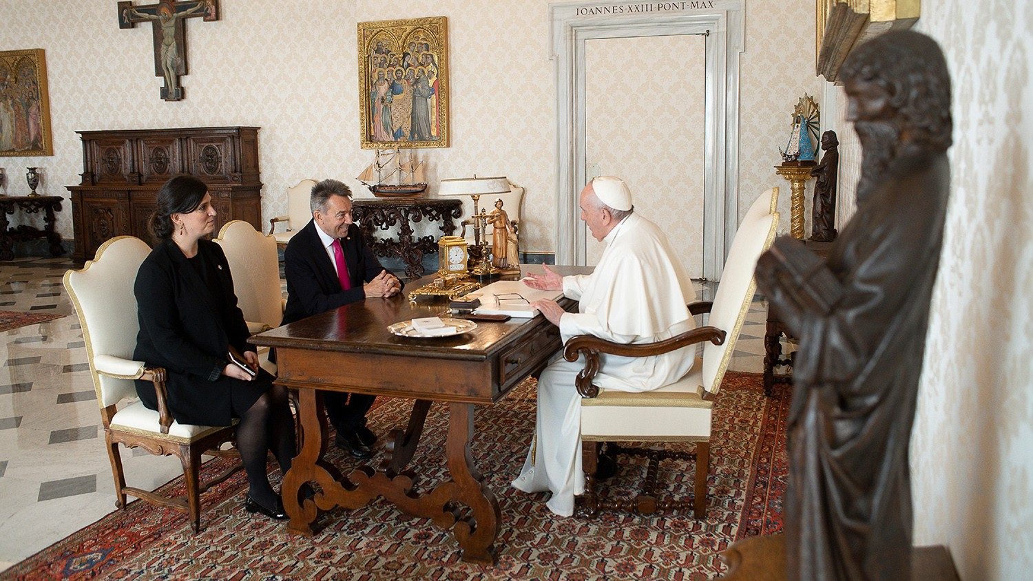 Pope meets with President of the International Red Cross