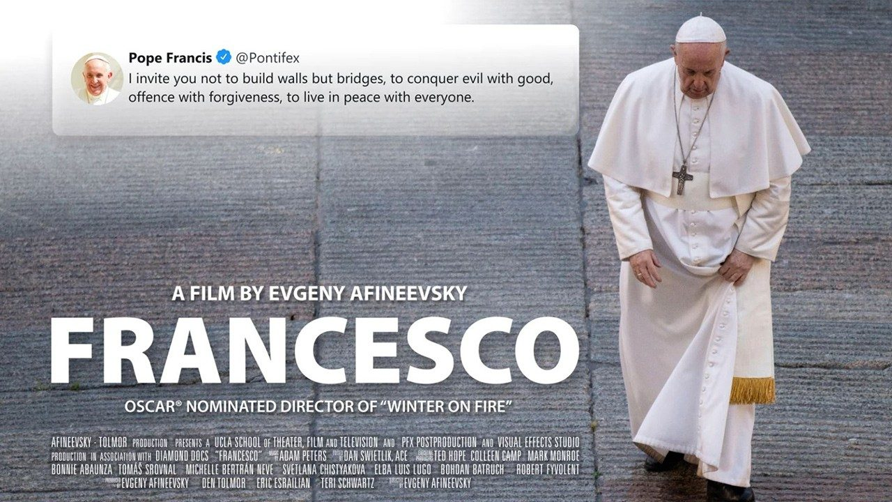 """Francesco"""": new documentary on the life and teaching of Pope Francis -  Vatican News"""