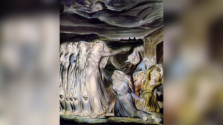 "William Blake ""Wise And Foolish Virgins"""