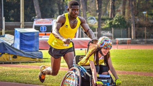 Le sport comme vecteur de solidarité encouragé par François