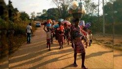 Refugees arriving in the Archdiocese of Calabar from Cameroon