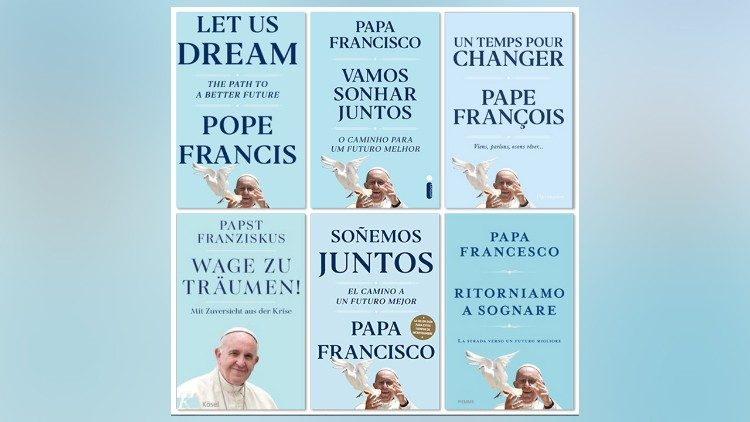"Covers of ""Let Us Dream: The Path to a Better Future"""