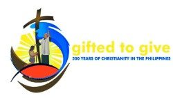 The logo of the celebration of the 5th centenary of Christianity in the Philippines.