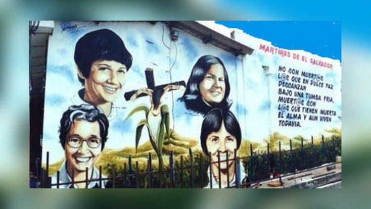 Bốn nhà truyền giáo bị sát hại tại El Salvador vào năm 1980