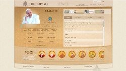 Home Page of www.vatican.va in English