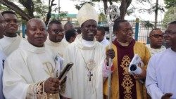 Archive image of Auxiliary Bishop Moses Chikwe of Owerri Archdiocese