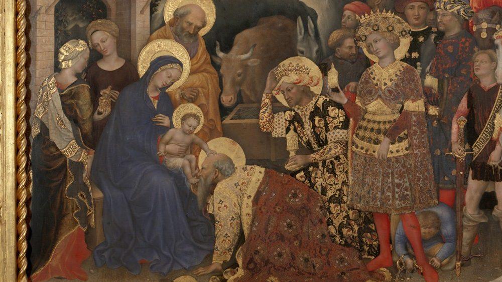 L'Adoration des Rois Mages» de Gentile da Fabriano