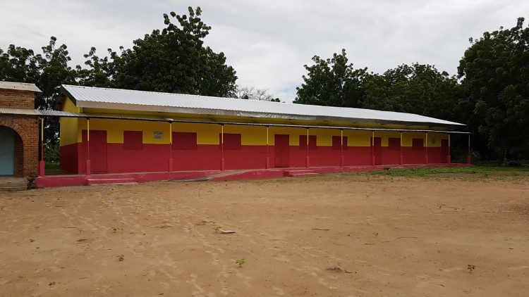 One of the schools built by Caritas Yagoua