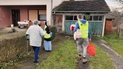Caritas Croatia in action after the 29 December 2020 earthquake.